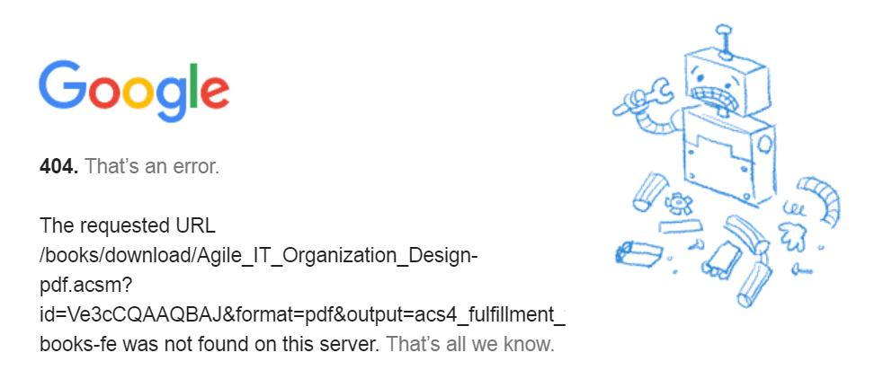 A Chrome 404 error page.