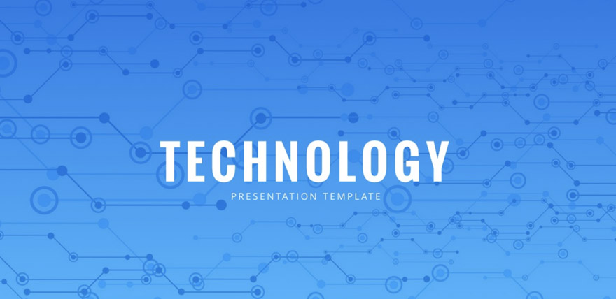 keynote templates technology