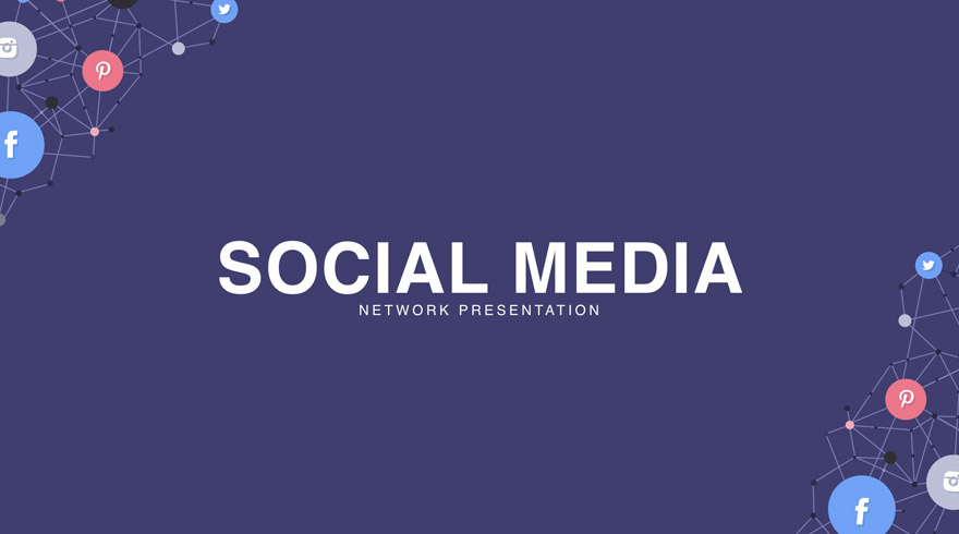 keynote templates social media