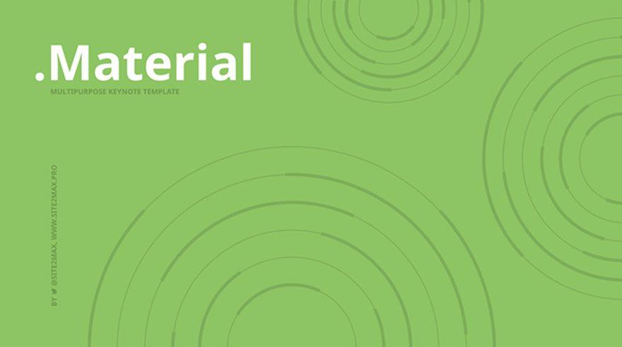 keynotes templates material