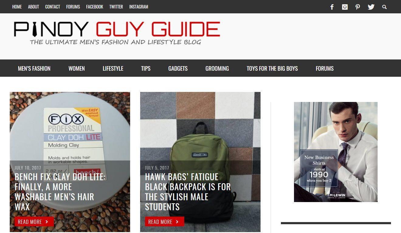 Guide de Pinoy Guy