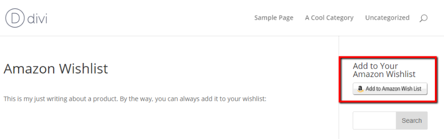 fe4055d15cada How to Add an Amazon Wishlist Button to Your WordPress Website ...