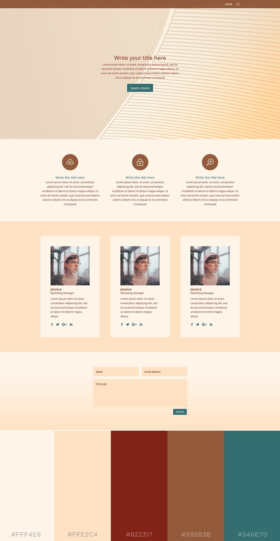 How to apply color palettes to your divi website 20 for Sophisticated color palette