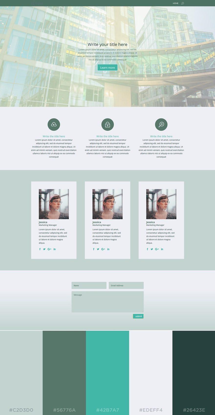 Website soft colors - Color Palettes