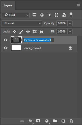 photoshop tricks rename layers