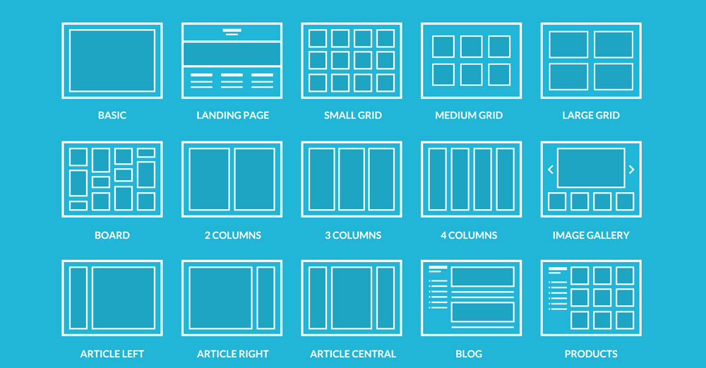 photoshop tricks use a grid layout