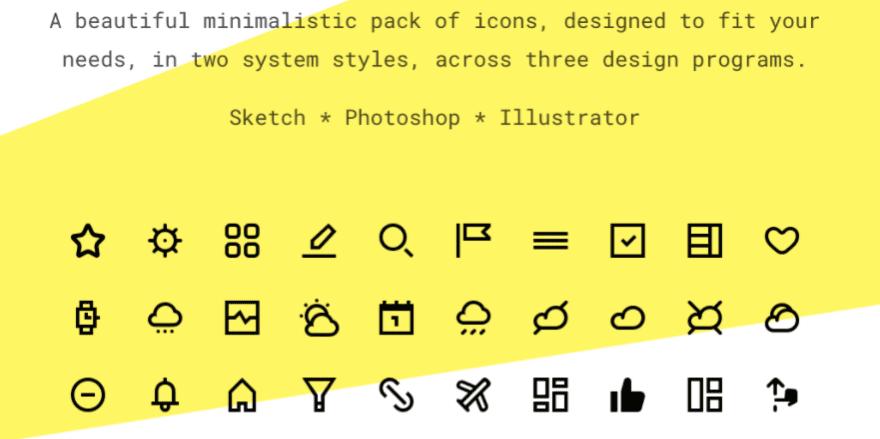 Set 1800 Icons