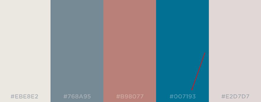 color palette changes