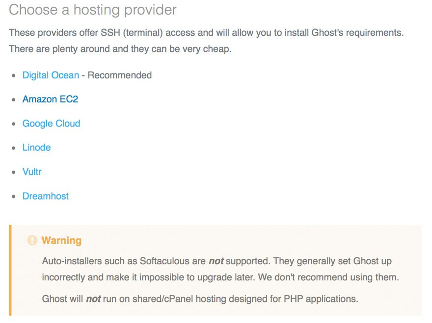Ghost 1.0 Blogging and Publishing Platform