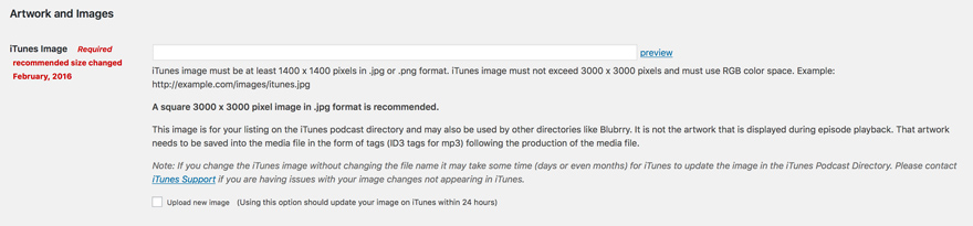 how to set up itunes podcast
