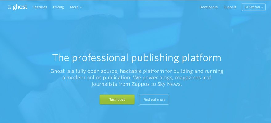 Ghost 1.0 is a professional publishing platform