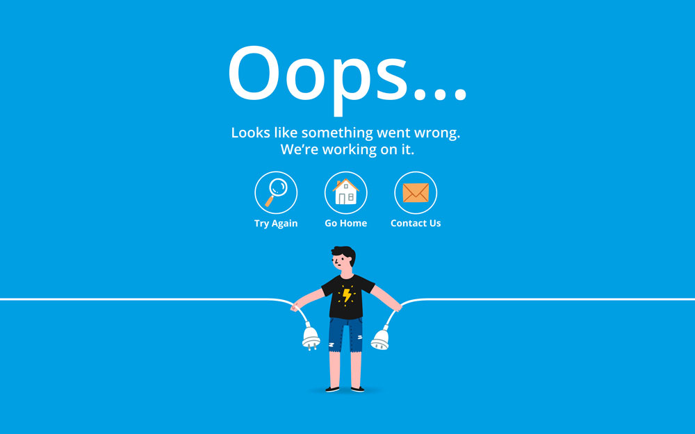 404 error page website improvements