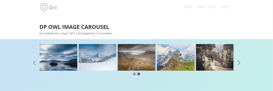 Divi Plugin Highlight – Owl Carousel Pro | Elegant Themes Blog