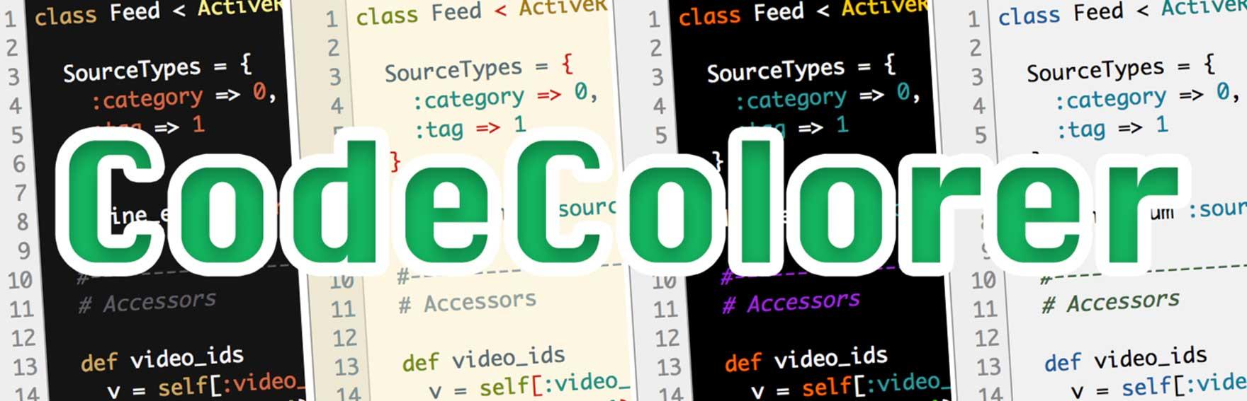 Code Colorer WordPress Plugin