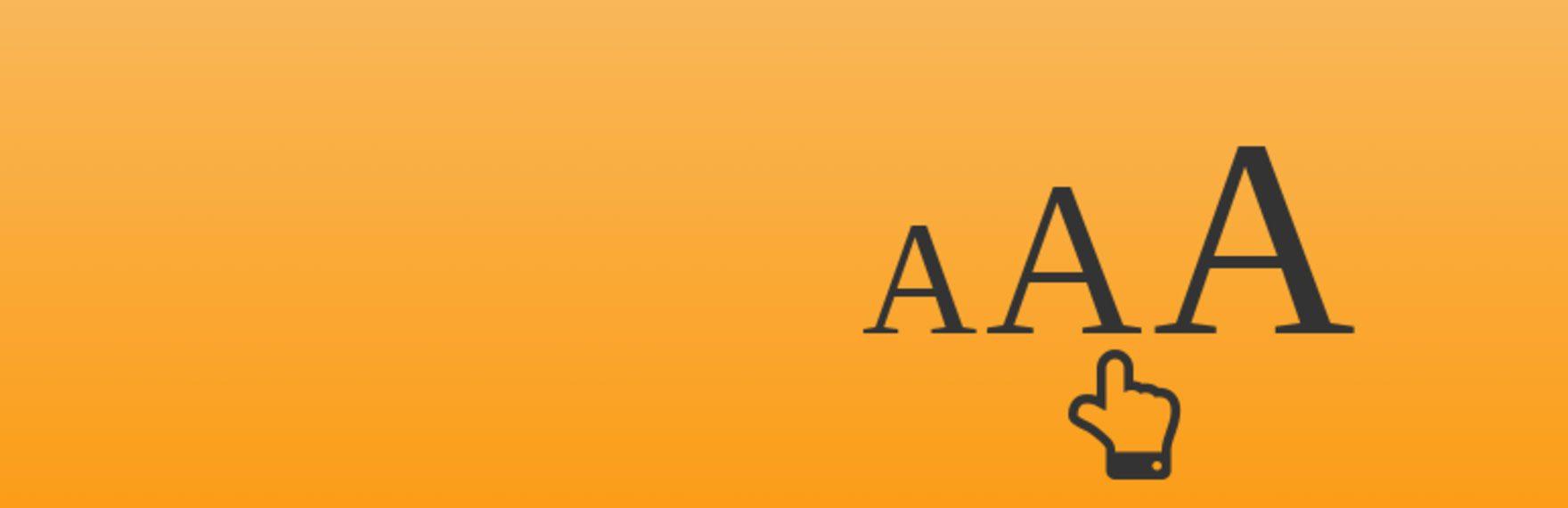 Font Resizer for WordPress