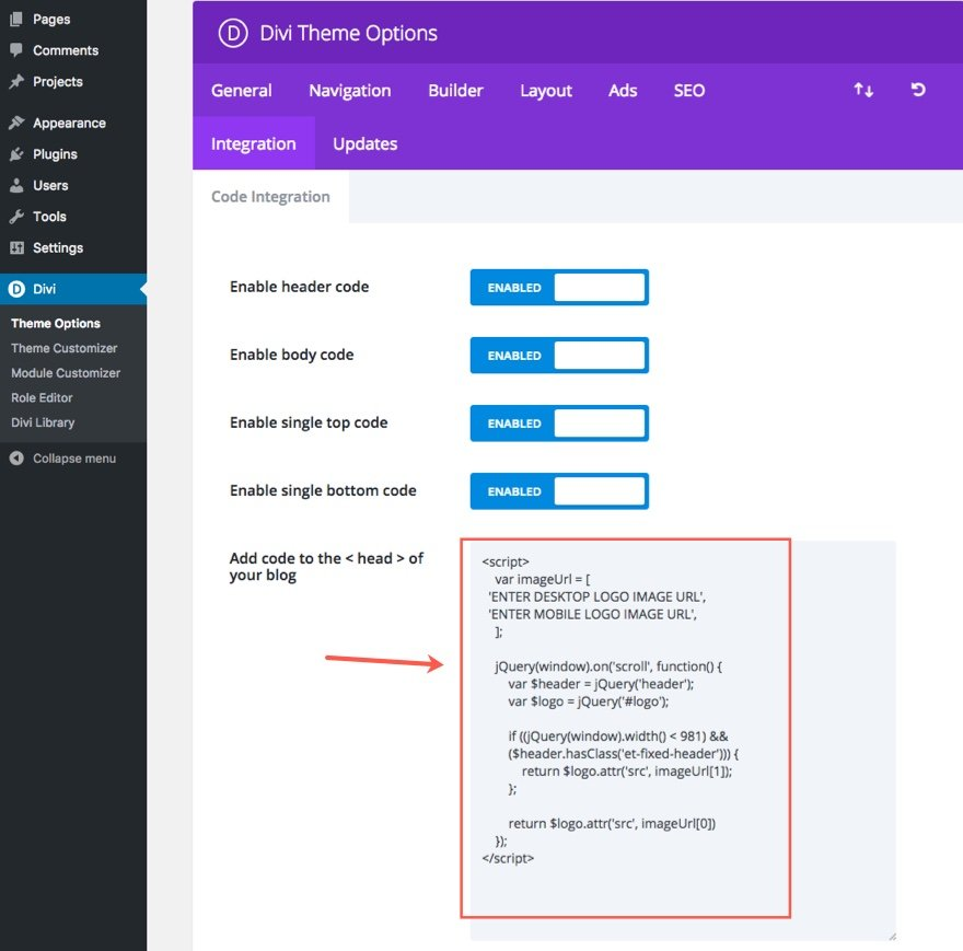 How to Add a Custom Fixed Header for Mobile Using Divi