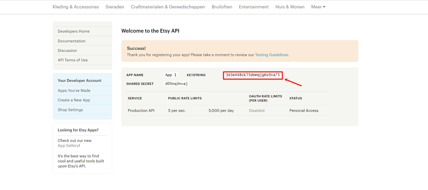 How to integrate your etsy shop into your divi website elegant themes blog - Api key divi ...