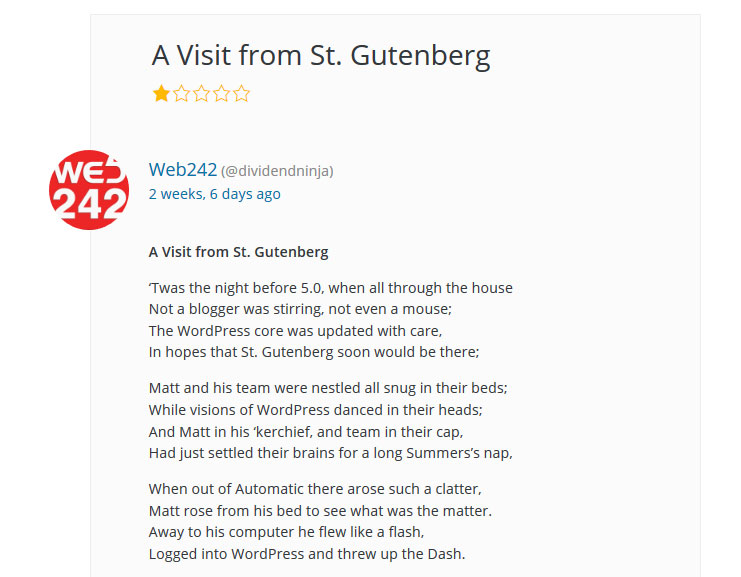 gutenberg review poem