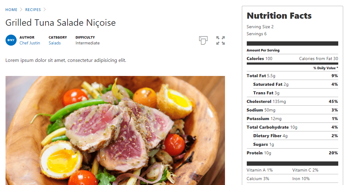 How To Create Gorgeous Wordpress Recipes In 4 Steps Elegant