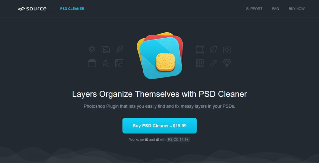 psd cleaner