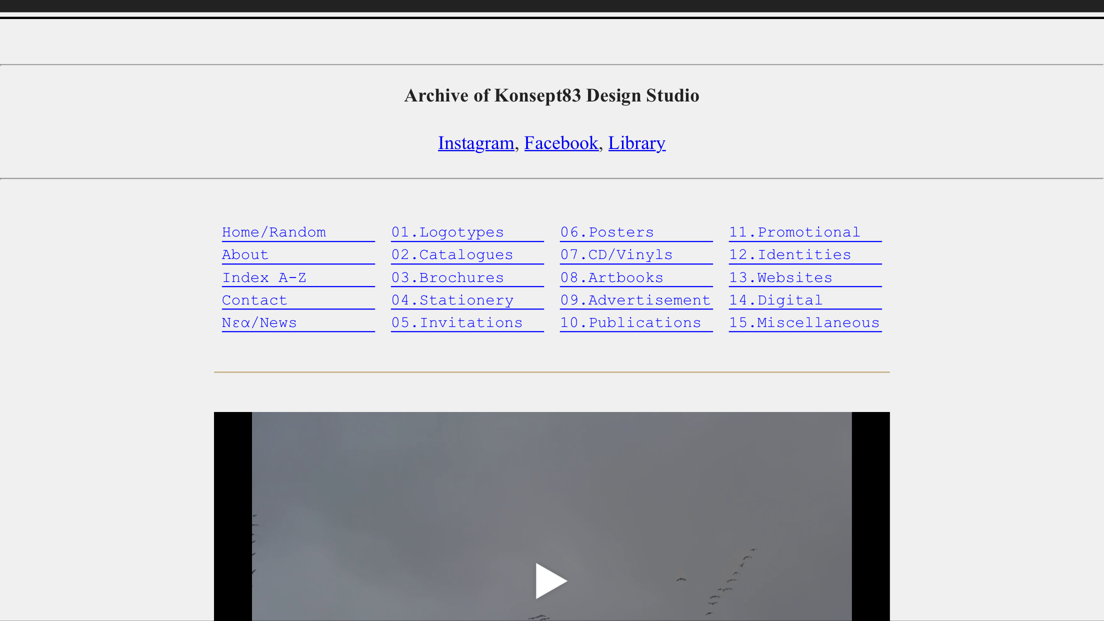 brutalist websites