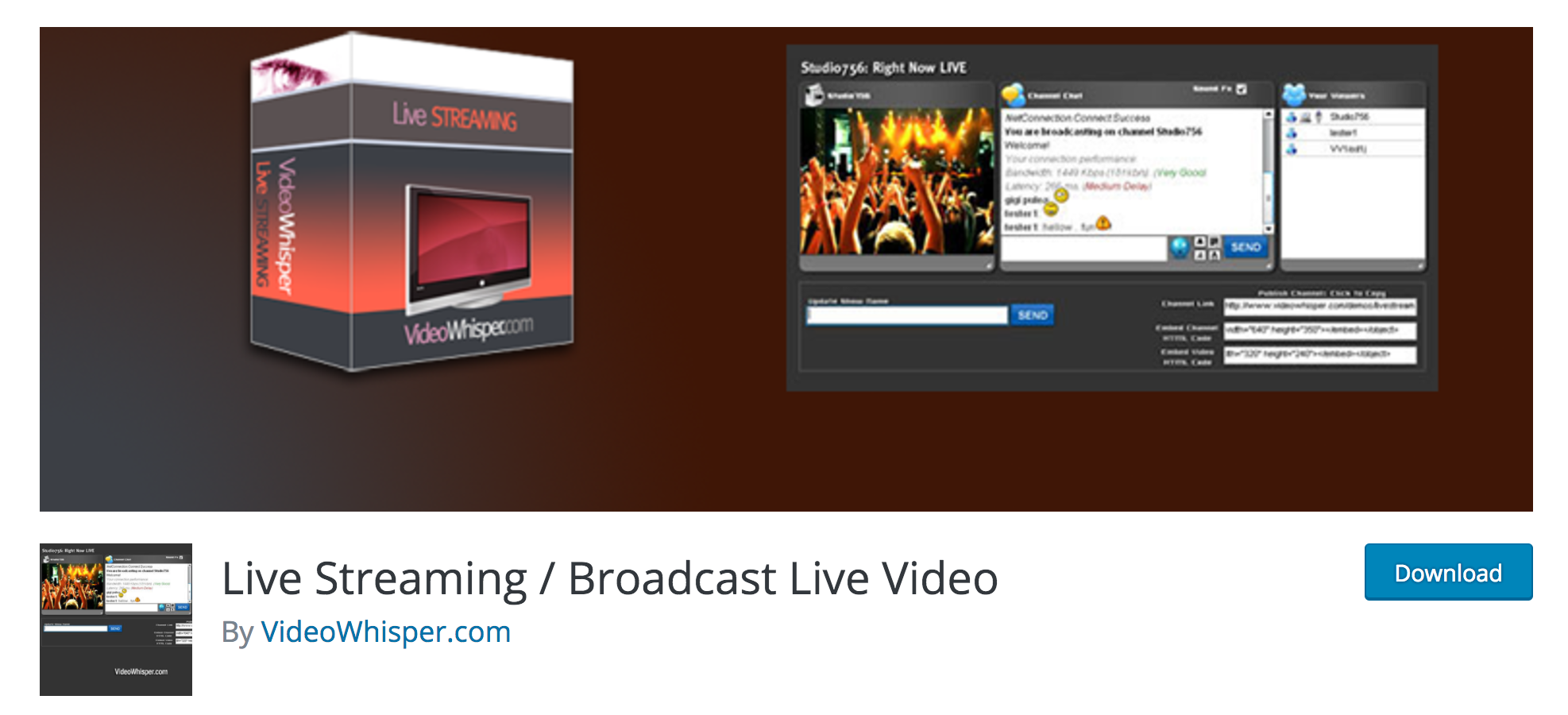 The Best Live Streaming Software and Plugins for WordPress | Elegant