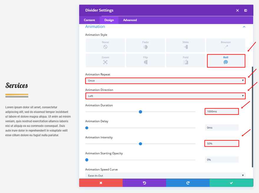 10 fun ways to use the divider module with the new divi options elegant themes blog - Divi section divider styles ...