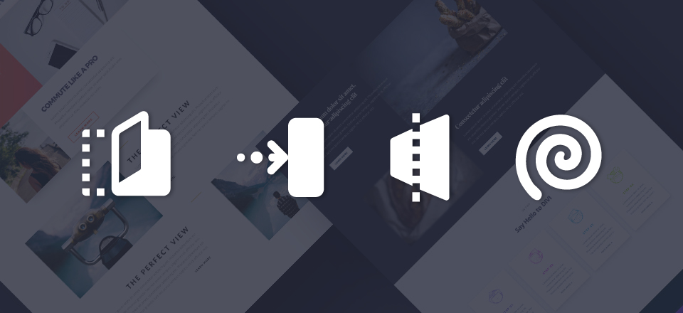Using Divi's Animations to Unfold Content with Sliding Images