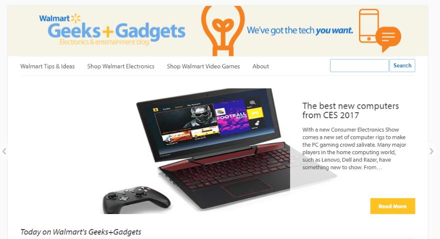 Walmart Electronics and Entertainment Blog