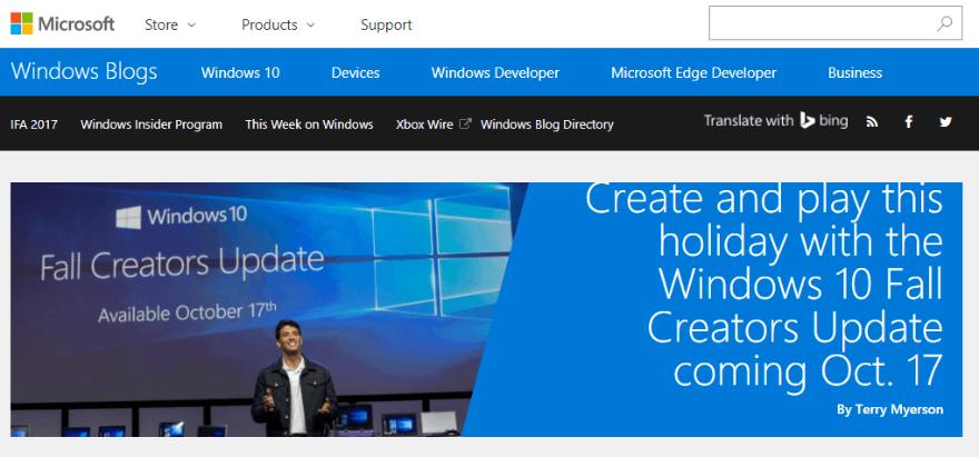 Microsoft Windows Blog