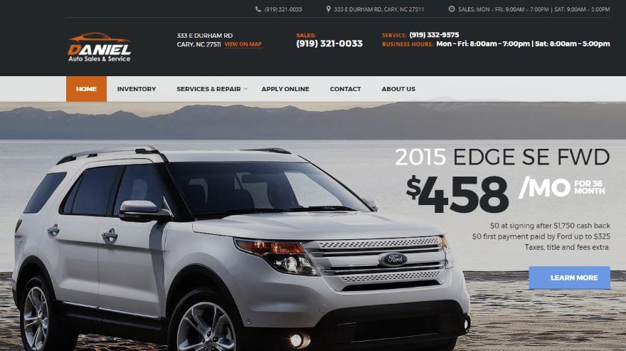 Elegant Car Sales Used Cars Search: 11 Car Sales Websites Created With WordPress