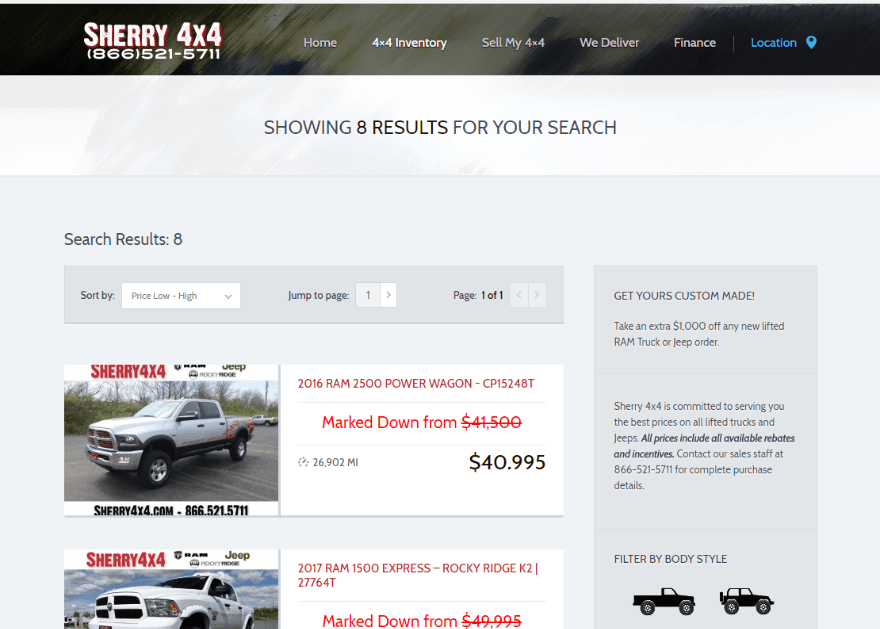 11 Car Sales Websites Created with WordPress | Elegant Themes Blog