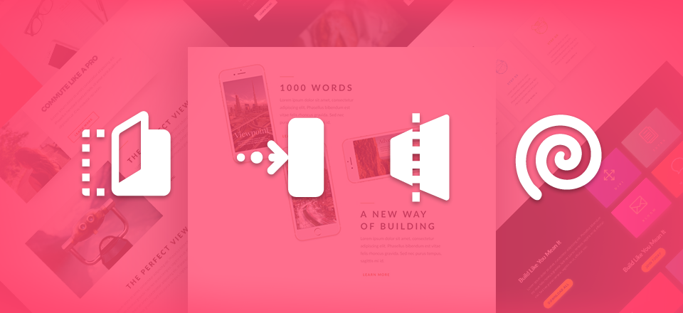 Using Divi's Animations to Roll Your Content into View