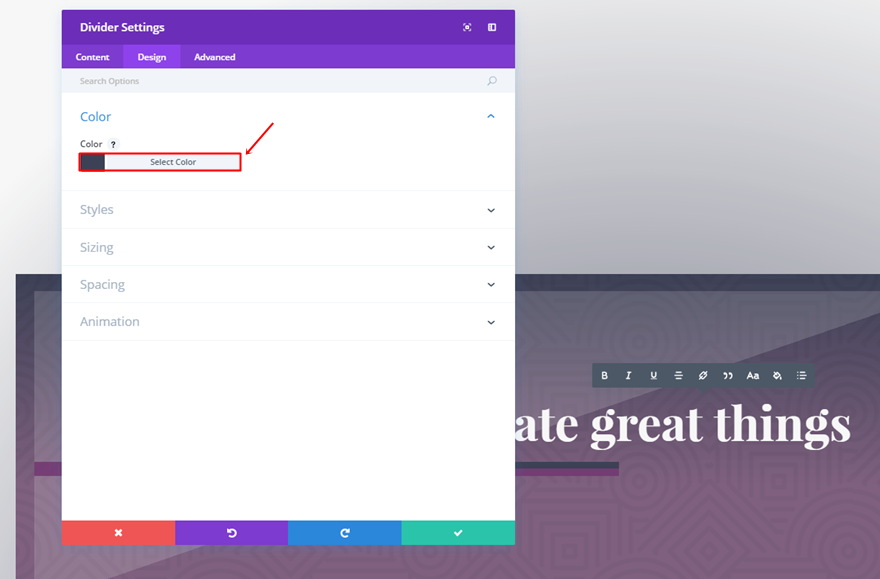 How to creatively combine row column backgrounds with divi s new options elegant themes blog - Divi section divider styles ...