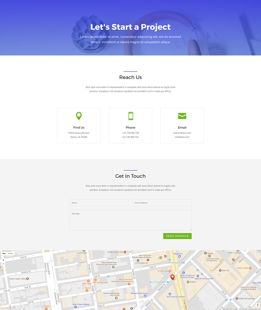Download An Amazing (Free) Divi Business Layout Pack - Ask