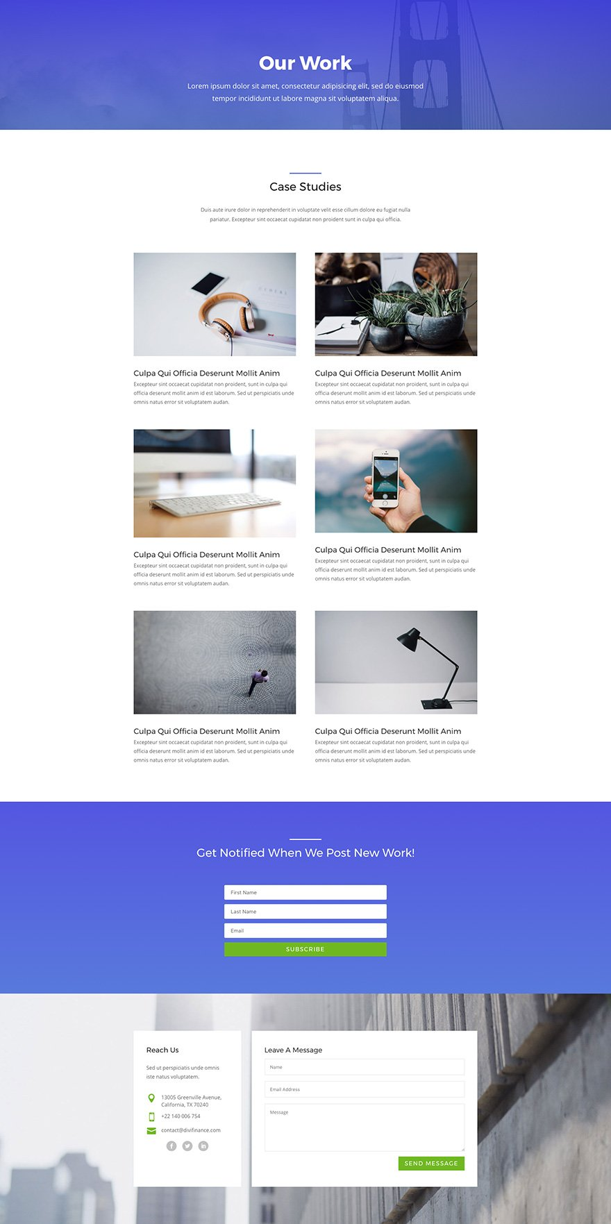 Souvent Download An Amazing (Free) Divi Business Layout Pack | Elegant  HO73