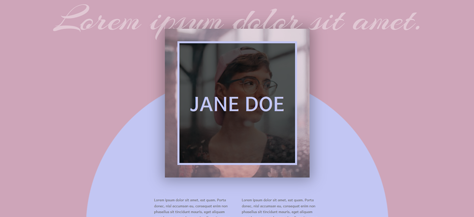 How to Create a Beautiful Hero Section for Your Personal Website with Divi