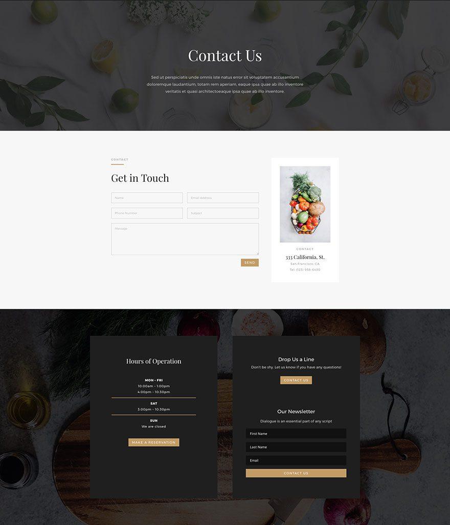 restaurant-contact