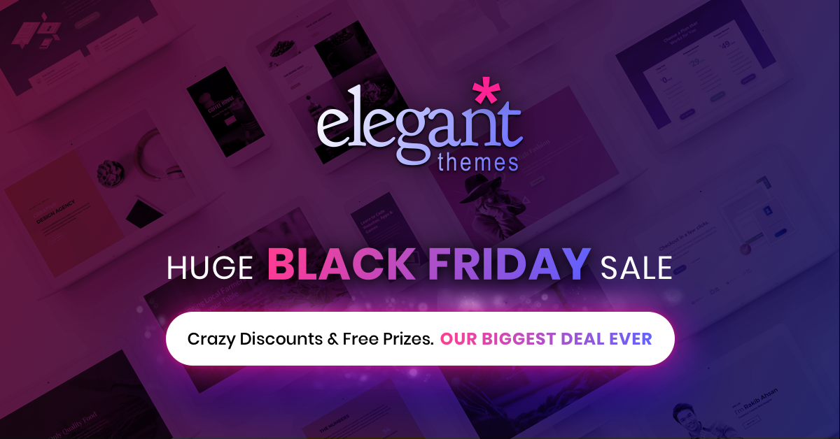 Our Biggest, Craziest Black Friday Sale Of All Time Starts Now!