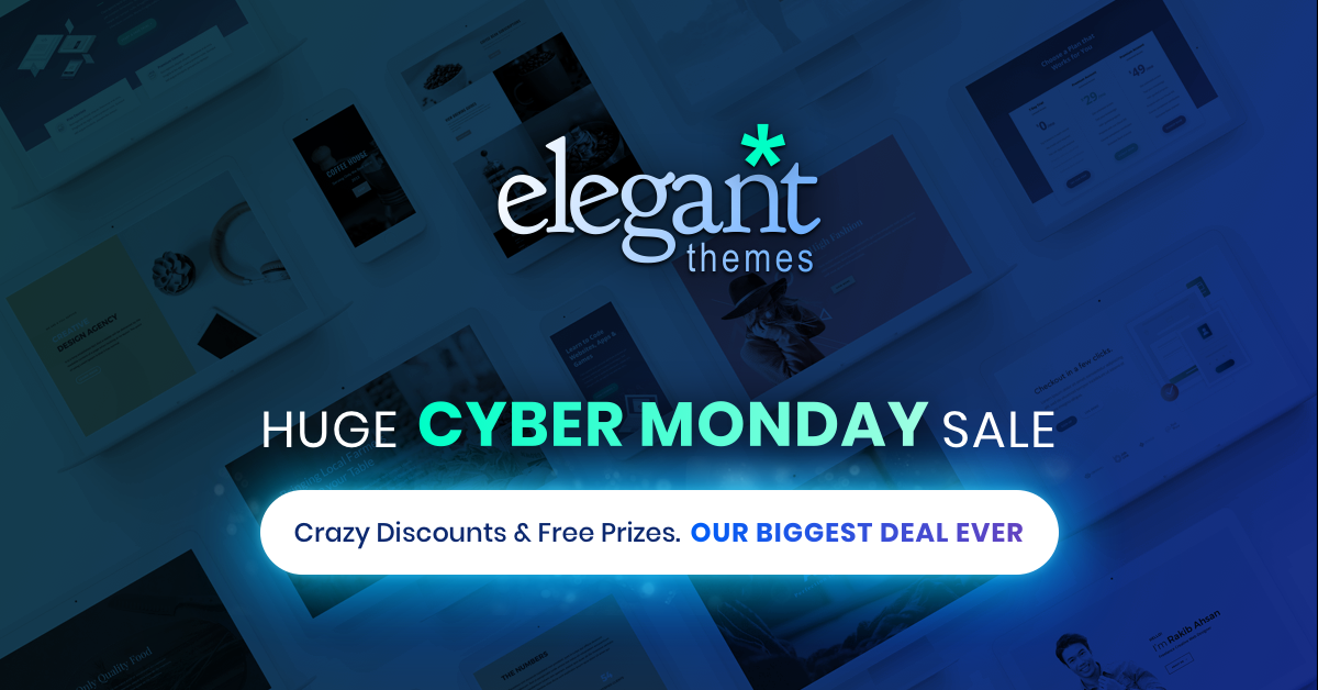 Our Most Insane Cyber Monday Sale Of All Time Starts Now!