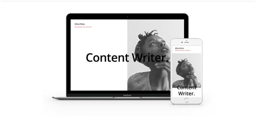 10 resume websites made with divi elegant themes blog
