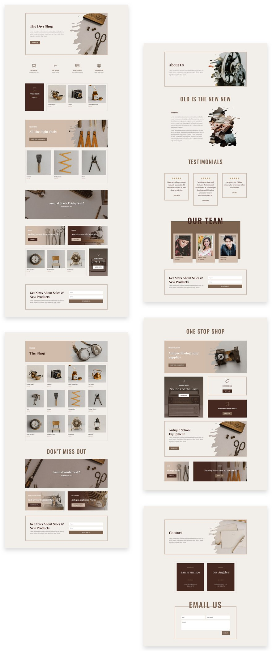 Online Store Cyber Monday Black Friday Layout Pack