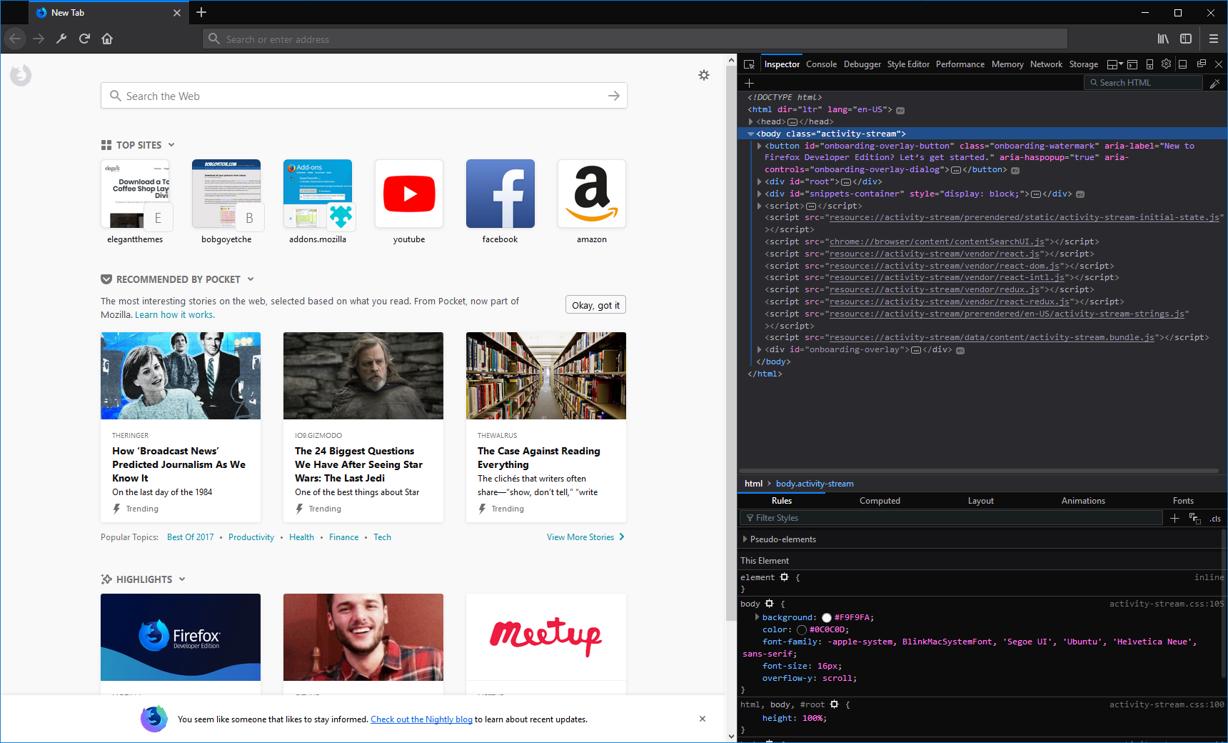 Firefox Developer Edition: Can It Replace Google Chrome? | Elegant