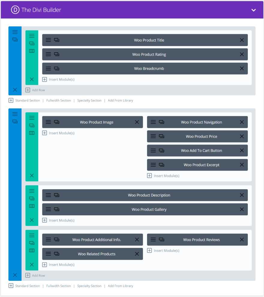 Divi plugin highlight wc product builder elegant themes - Divi builder woocommerce product page ...