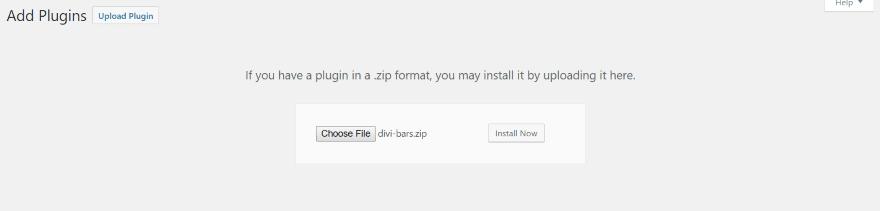 Divi plugin highlight divi bars ask the egghead wordpress web development - Divi api key ...