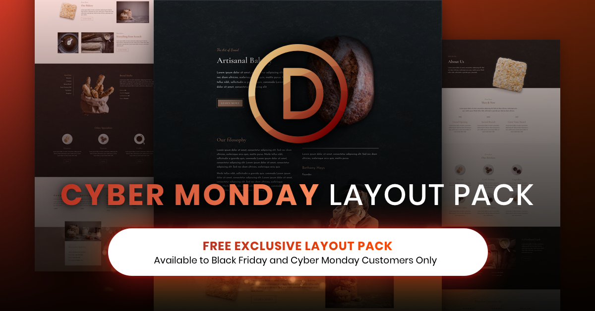 How to Use the Exclusive Cyber Monday Bakery Layout Pack to Create a Locations Page for Your Business