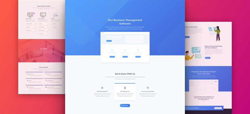 Download a Free & Results-Driven SaaS Layout Pack for Divi