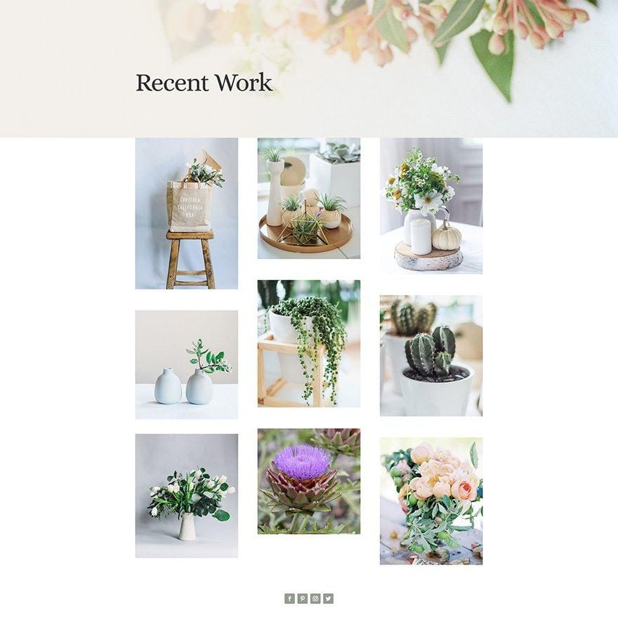 florist work
