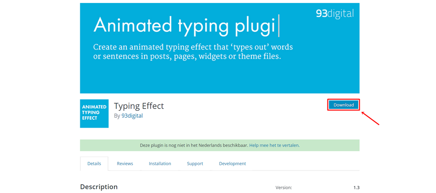 typing effect