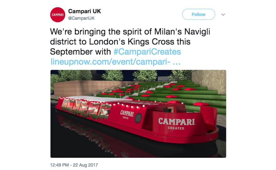 Campari Twitter